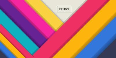 bunter Hintergrund des modernen abstrakten geometrischen Rechtecks vektor