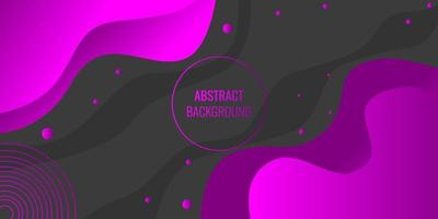 modern abstrakt lila gradient vågig geometrisk vektor