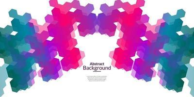 moderner abstrakter dekorativer Hintergrund vektor
