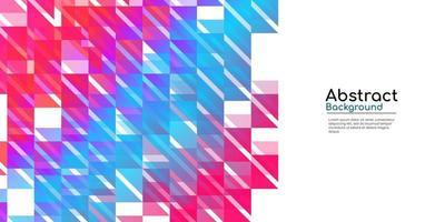 abstrakt bakgrund med färgglad geometrisk lutning