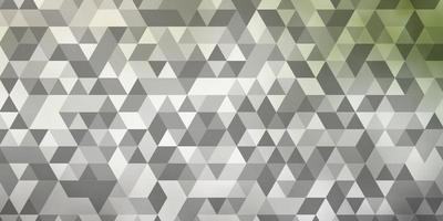 ljusgrå vektor bakgrund med månghörnigt stil.
