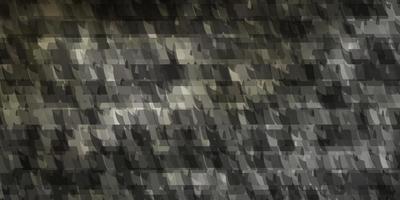 ljusgrå vektor konsistens med linjer, trianglar.