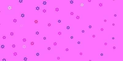 ljuslila, rosa vektormall med influensatecken. vektor