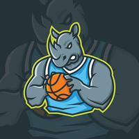 Basketball-Maskottchen vektor