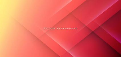 abstrakter roter gelber geometrischer Hintergrund und Textur. modernes Konzept. vektor