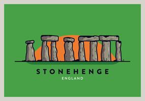 England Postkarte Vektor