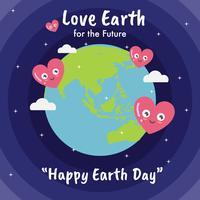 Tag der Erde Illustration