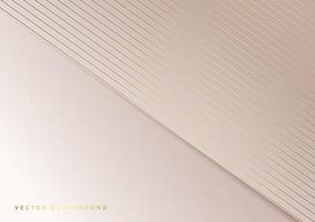 Diagonale Überlappung der abstrakten Streifen goldener Linien auf rosa Hintergrund. Luxusstil. vektor