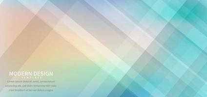 Banner Design geometrische bunte Überlappung mit Hintergrund. vektor