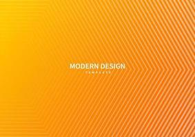 abstrakte moderne gestreifte Linien auf orange Gradientenhintergrund. vektor
