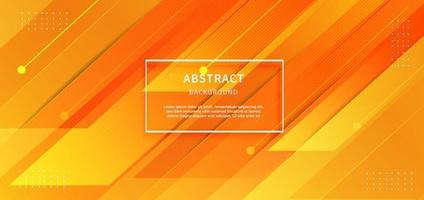 abstrakter moderner Streifen geometrischer diagonaler gelber Hintergrund. Sie können für Anzeige, Poster, Vorlage, Geschäftspräsentation verwenden. vektor