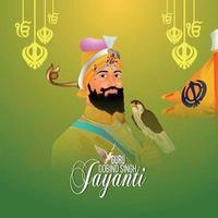 Guru Gobind Singh Jayanti Karte vektor