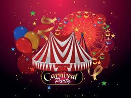 karneval part gratulationskort