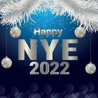 Frohes neues Jahr Party Design