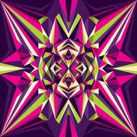 kalejdoskopmönster vektor