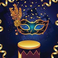 karneval firande part hälsning