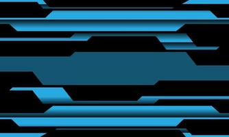 abstrakt blå krets cyberlinje mönster design modern futuristisk teknik bakgrund vektorillustration. vektor