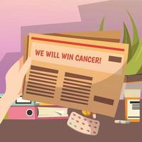 besegra ortogonal sammansättning av cancer vektor