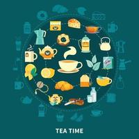 Tee Vektor-Illustration vektor