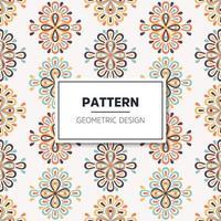 nahtlose Muster Vintage dekorative Elemente vektor