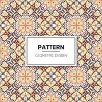 nahtloses Muster. Vintage dekorative Elemente vektor