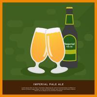 imperial blek ale vektor illustration