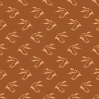 digitales Papiermusterdesign der Ente vektor