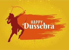 Happy Dussehra Design mit Lord Ram