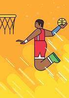 Slam dunk vektor