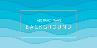 abstrakter Wellenhintergrundvektor vektor