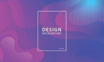 fließende Form Banner Design Hintergrund. flüssige geometrische Gradientenschablone. vektor