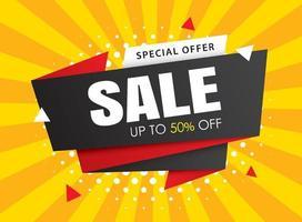 försäljning banner mallar. vektorillustrationer för affischer, shopping, e-post och nyhetsbrev design, annonser.
