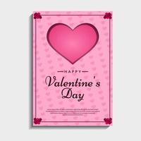 schöne Valentinskarte