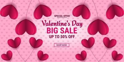 Valentinstag Sonderangebot Verkauf