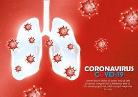 coronavirus-kampanjbakgrund