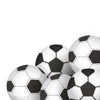 ikoner för fotbollsutrustning