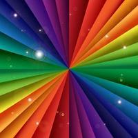 helle Vektorregenbogenfeier-Feiertagsfahne