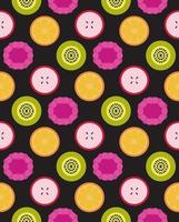 Vektor Früchte nahtloses Muster