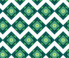 Grunge buntes geometrisches nahtloses Muster
