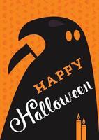 Happy Halloween Schriftzug vektor