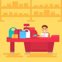 Einkaufskonzept Illustration