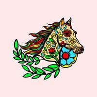 Tag des toten Pferdes vektor