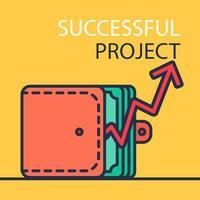 framgångsrik projektbanner
