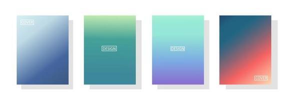 Sammlung von Farbverlaufshintergründen