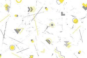 abstrakter Hintergrund von geometrischen Elementen vektor