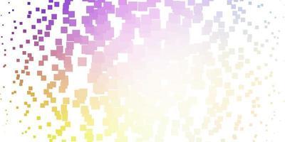 leichtes mehrfarbiges Vektorlayout mit Linien, Rechtecken. vektor