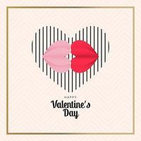 Feier Valentinstag stilvolle Grüße