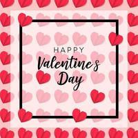 romantische glückliche Valentinstag stilvolle Grüße