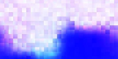 hellvioletter Vektorhintergrund mit Rechtecken. vektor