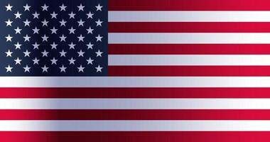 amerikansk flaggdag vektor